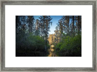 The Narrows Framed Print by Marvin Spates