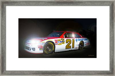 The Need For Speed 21 Framed Print by Kenneth Krolikowski