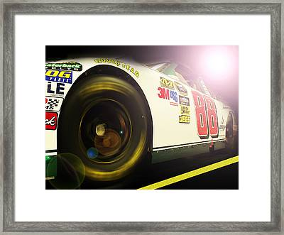 The Need For Speed 88 Framed Print by Kenneth Krolikowski