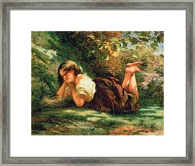 The Nest Framed Print by Robert Gavin