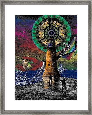 The New Pharos Framed Print by Eric Edelman