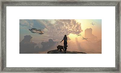 The New World Framed Print by Mary Almond