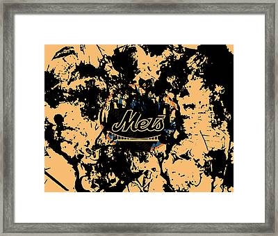 The New York Mets 1a Framed Print by Brian Reaves