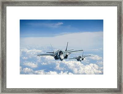 The Next Generation Framed Print by Peter Chilelli