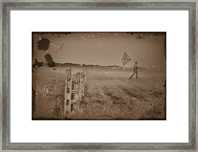 The Night They Drove Old Dixie Down Framed Print by Bill Cannon