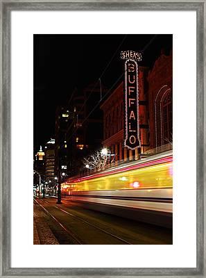 The Night Train Framed Print by Don Nieman