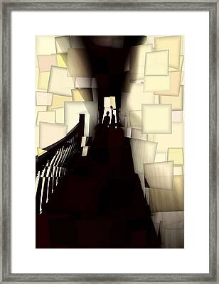 The Nightmare Framed Print by Dan Sproul