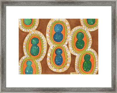 The Noble Family Framed Print by Heidi Capitaine