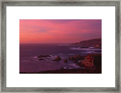 The North Coast - Highway One Framed Print by Soli Deo Gloria Wilderness And Wildlife Photography