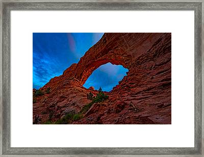 The North Window Framed Print by Rick Berk