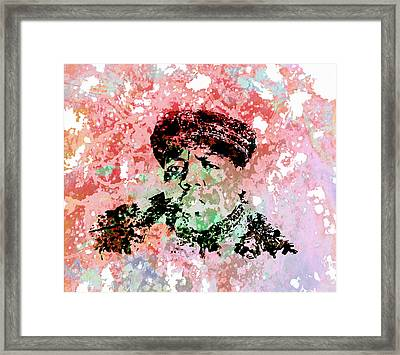 The Notorious Big Framed Print by Brian Reaves