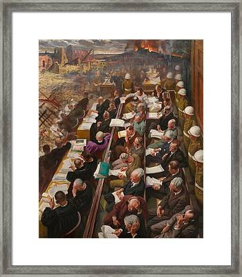 The Nuremberg Trial Framed Print by Mountain Dreams