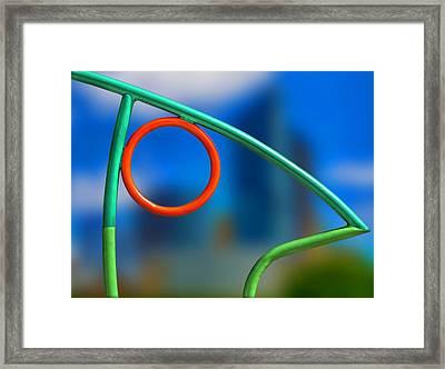 The Observer Framed Print by Paul Wear