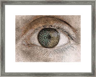 The Observer Framed Print by Susan Maxwell Schmidt