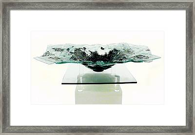 the  Offering Bowl Framed Print by Sarah King