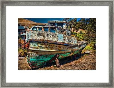 The Old Black Pearl  Framed Print by Garry Gay