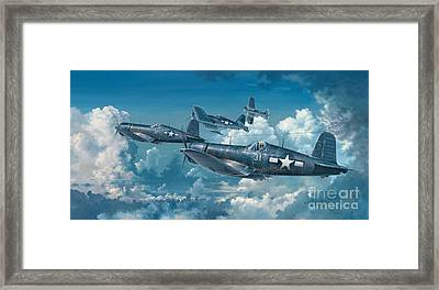 The Old Breed Framed Print by Randy Green