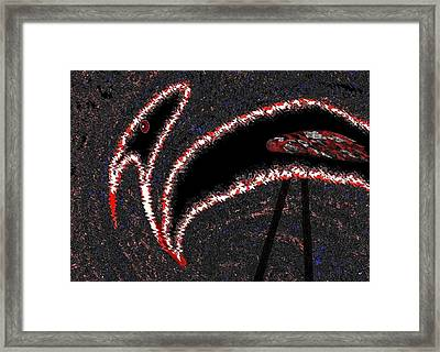 The Old Buzzard Framed Print by Will Borden