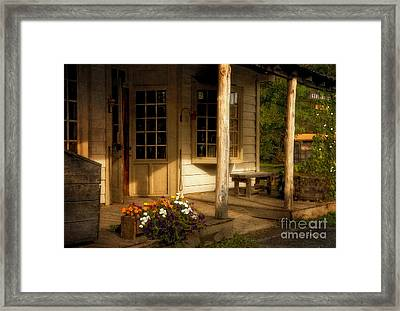 The Old General Store Framed Print by Lois Bryan