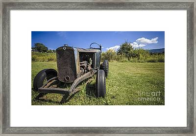 The Old Jalopy Framed Print by Edward Fielding