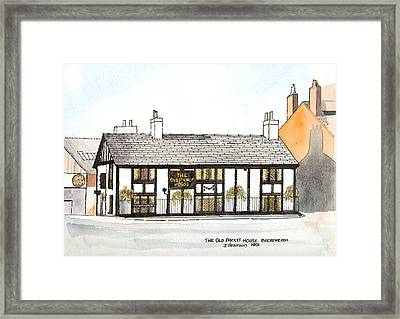 The Old Packet House Framed Print by Max Blinkhorn