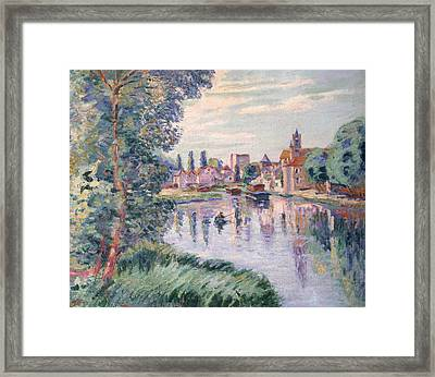 The Old Samois Framed Print by Jean Baptiste Armand Guillaumin