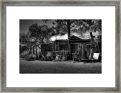 The Old Shed II Framed Print by David Patterson