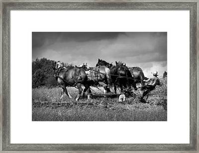The Old Way Framed Print by Gary Yost