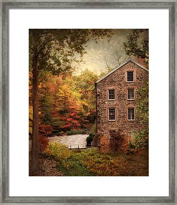 The Olde Country Mill Framed Print by Jessica Jenney
