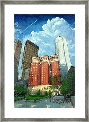 The Omni William Penn Hotel Framed Print by Erik Schutzman