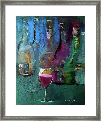 The One That Stands Out Framed Print by Lisa Kaiser