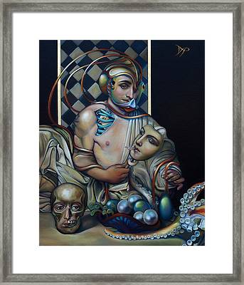 The Orbicle Of Delphi Framed Print by Patrick Anthony Pierson