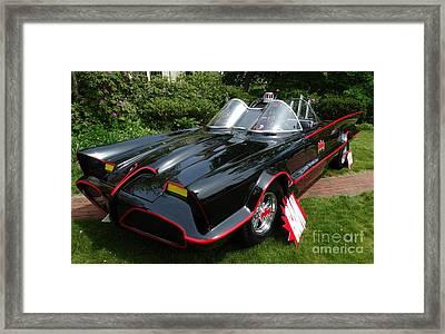 The Original 1960's Batmobile Framed Print by Gina Sullivan