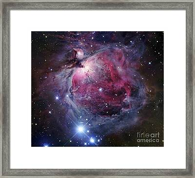 The Orion Nebula Framed Print by Robert Gendler
