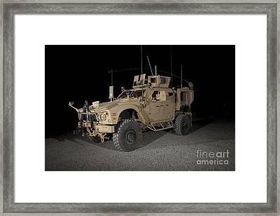 The Oshkosh M-atv Framed Print by Terry Moore