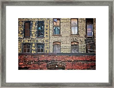 The Other Side Framed Print by Odd Jeppesen