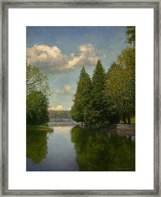 The Outlet Framed Print by Wayne Daniels