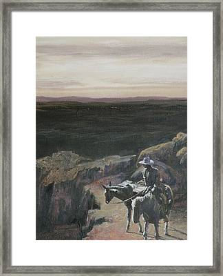 The Overlook Framed Print by Mia DeLode
