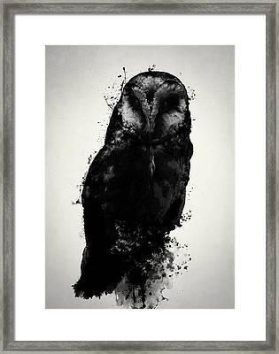 The Owl Framed Print by Nicklas Gustafsson