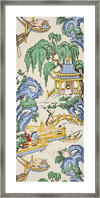 The Pagoda Framed Print by Harry Wearne