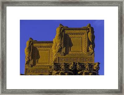 The Palace Of Fine Arts  Framed Print by Garry Gay