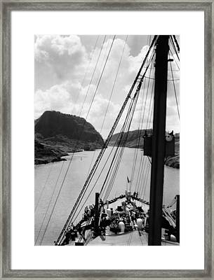 The Panama Canal, Circa 1939 Framed Print by Everett