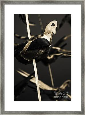 The Paper Stork Framed Print by Jorgo Photography - Wall Art Gallery