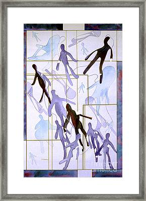 The Party Inclusion And Ostracism In A Symbolic Painting Framed Print by Phil Albone