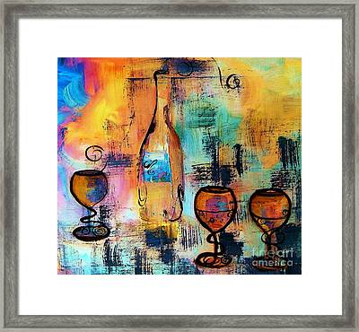 The Party Framed Print by Lisa Kaiser