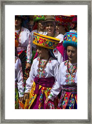 The Pase Del Nino Parade Is World Famous Framed Print by Al Bourassa