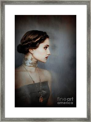 The Passing Of An Age Framed Print by Spokenin RED