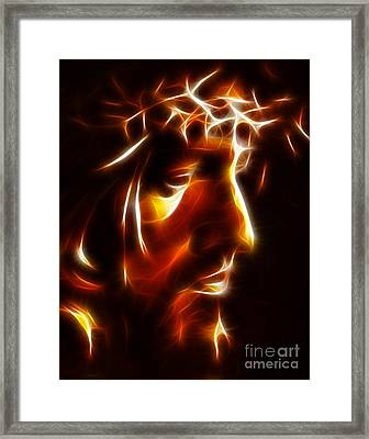 The Passion Of Christ Framed Print by Pamela Johnson
