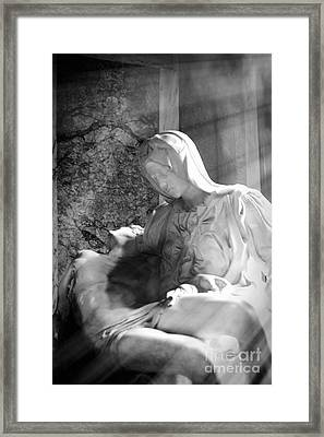 The Passion Of The Christ Framed Print by Stefano Senise