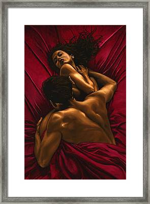 The Passion Framed Print by Richard Young